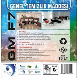 GM F7 Genel Temizlik Maddesi 10 Litre