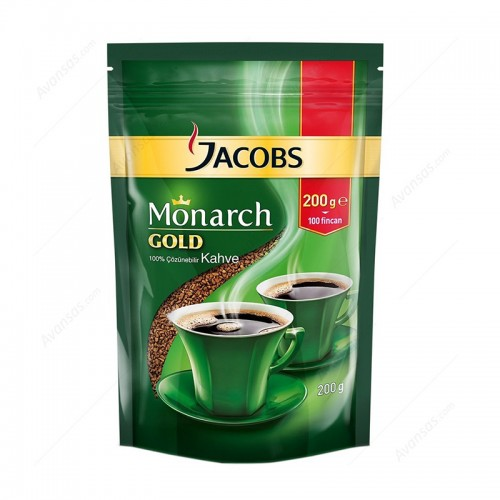 Jacobs Monarch Gold 200 gr Kahve