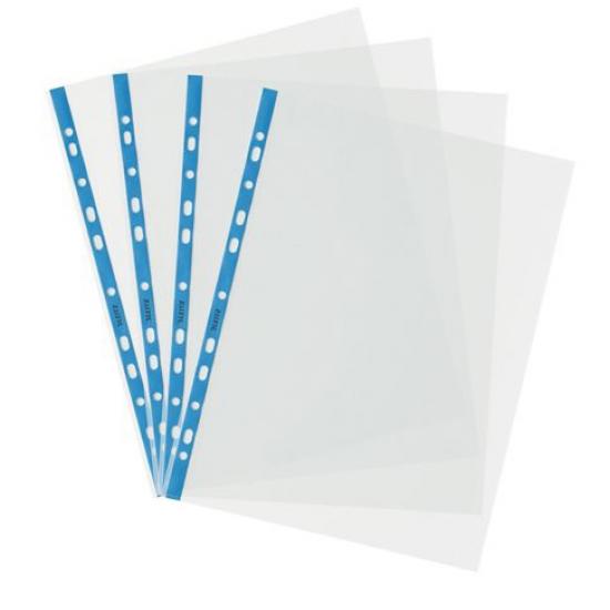 Leitz 4700 A4 Delikli Kristal Şeffaf Poşet Dosya 100'lü Paket