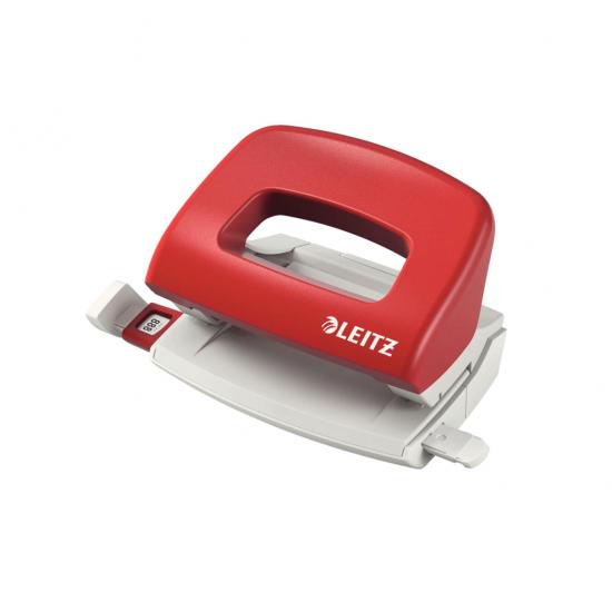 Leitz 5058 Delgeç Masa Tipi 10 Sayfa Kapasiteli Kırmızı