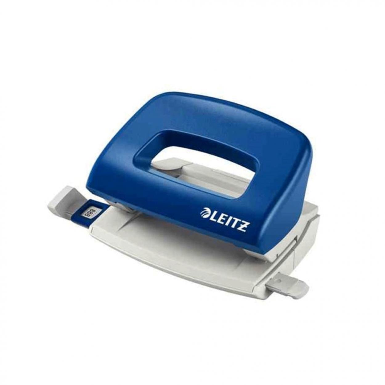 Leitz 5058 Delgeç Masa Tipi 10 Sayfa Kapasiteli Mavi