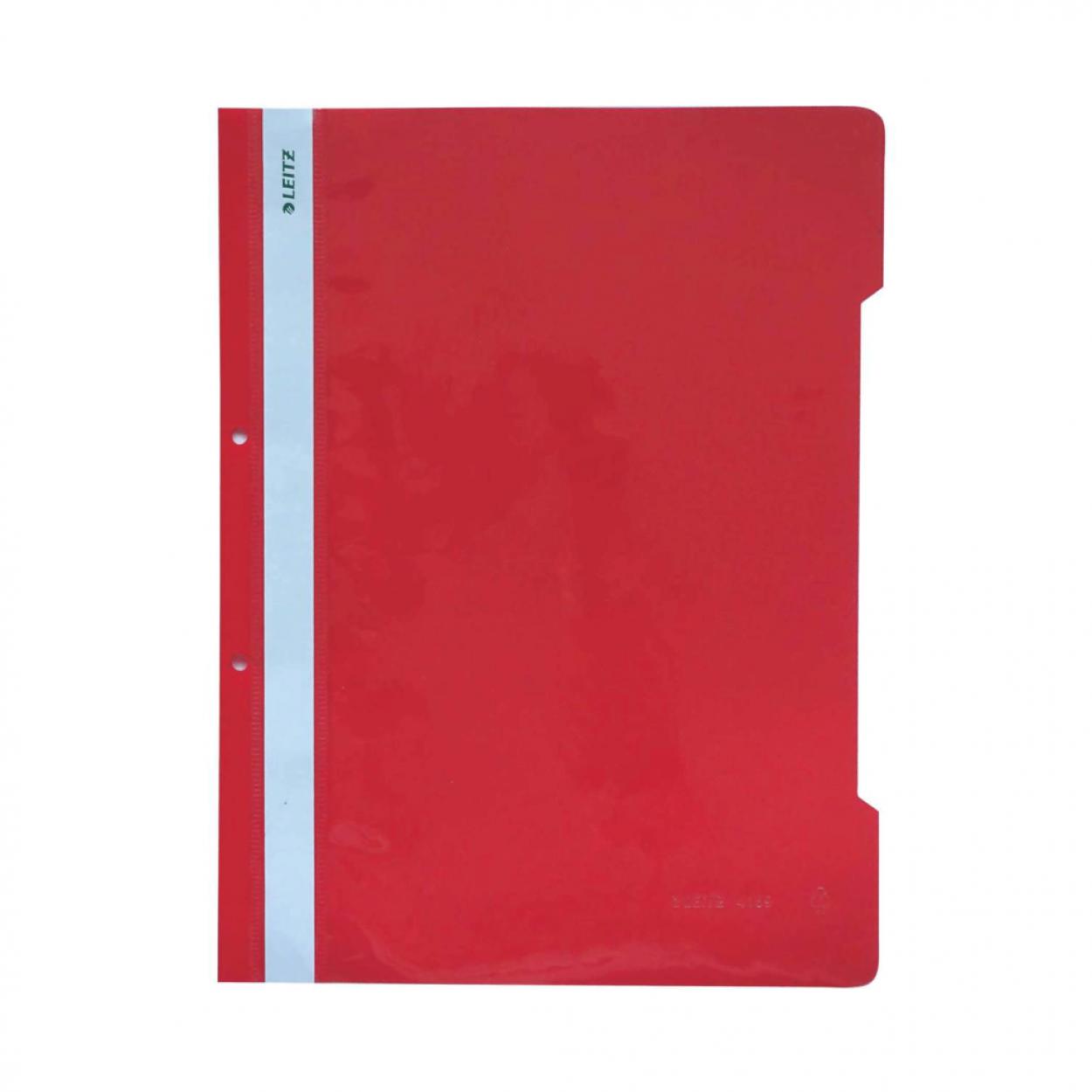 Leitz Telli Dosya Kırmızı  50'Li