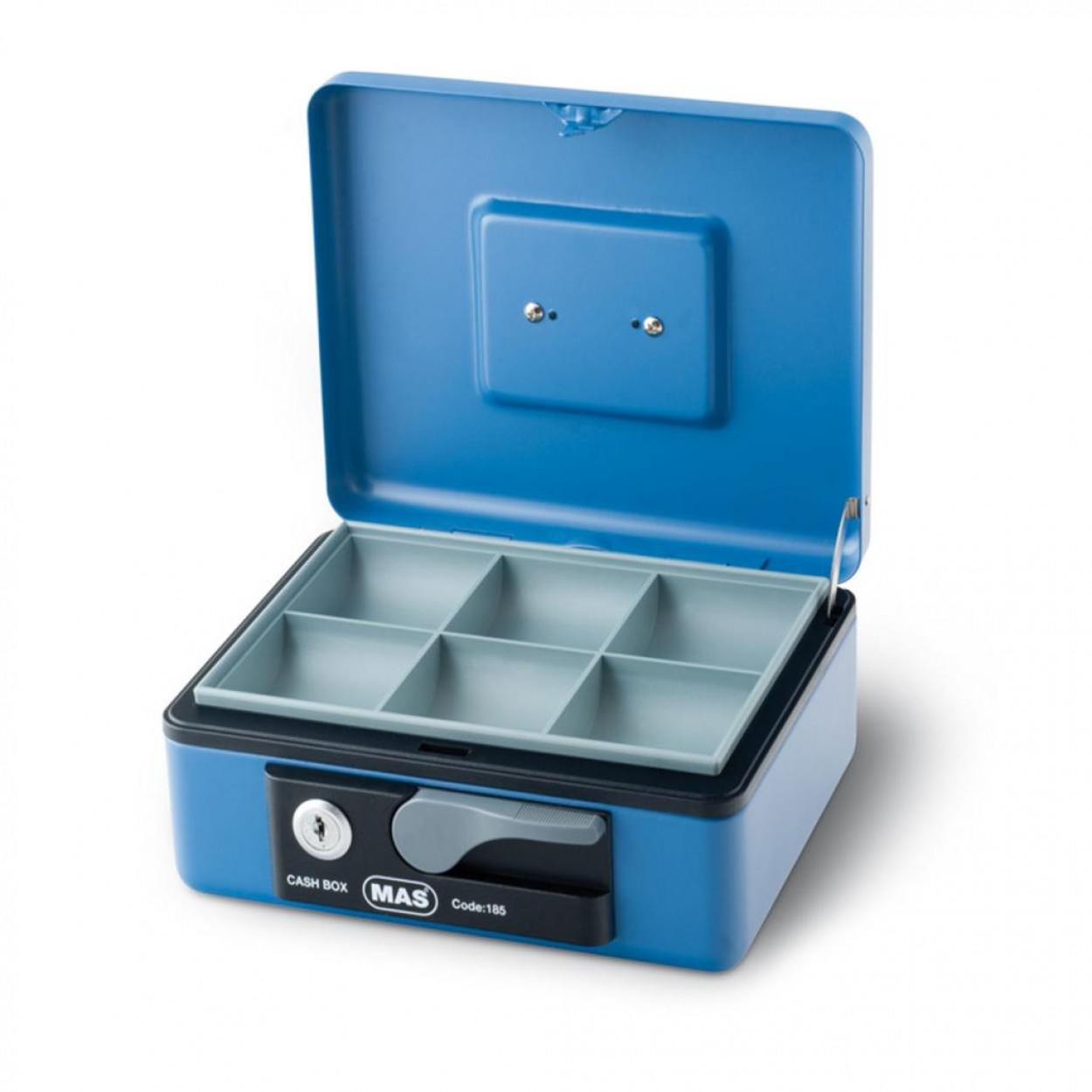 Mas 185 Orta Boy Metal Para Kasası Mavi