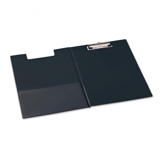 Mas 4104 PVC Kaplama Kapaklı Sekreterlik Siyah