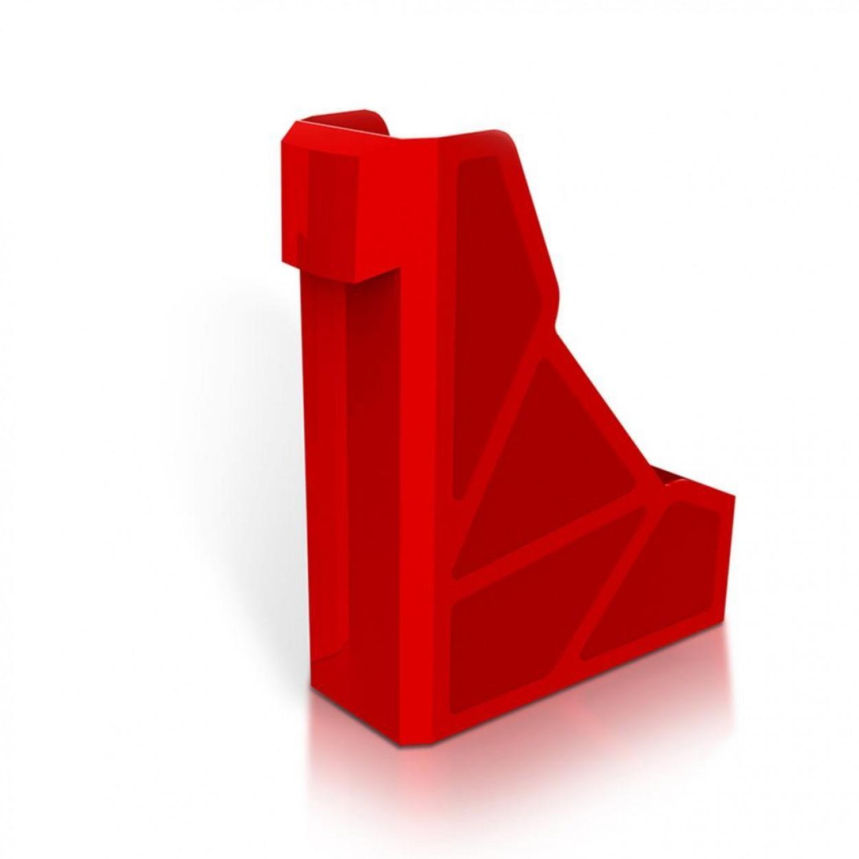 Mas 886 Solid Geniş Magazinlik Kırmızı