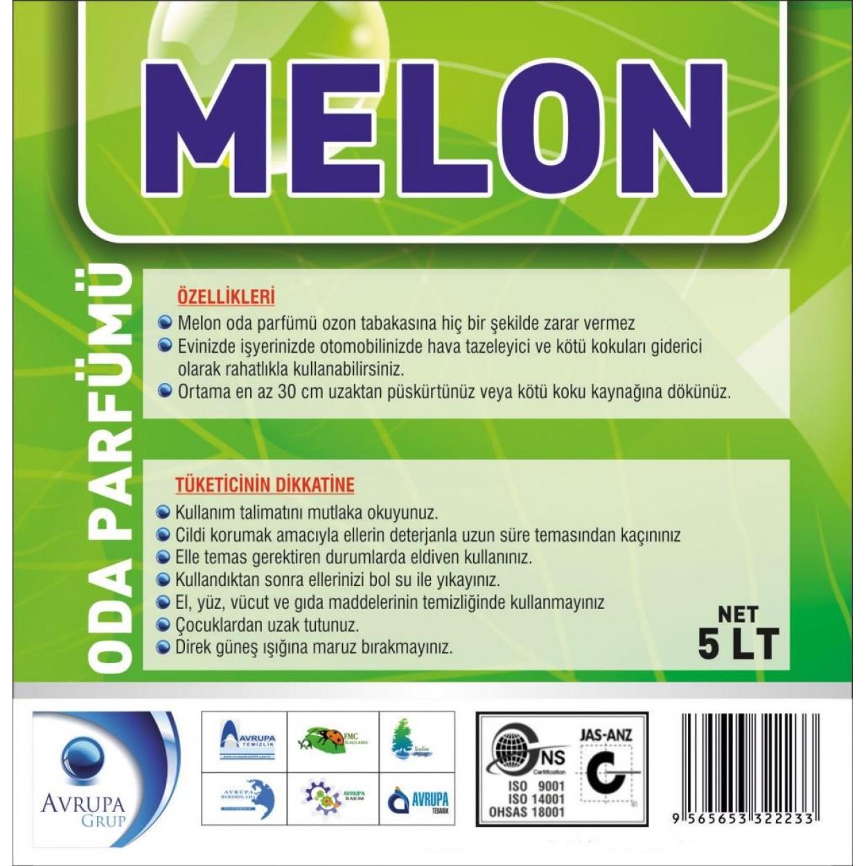 MELON Kötü Kokuları Gideren Hava Şartlandırıcı 5 Litre