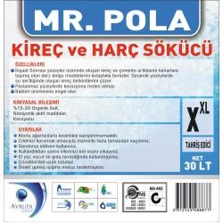 MR.POLA Kireç ve Harç Sökücü 30 Litre