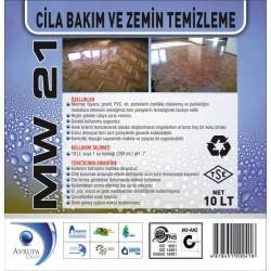 MW 21  Cila Bakım ve Zemin Temizlik Ürünü 10 Litre