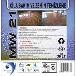 MW 21  Cila Bakım ve Zemin Temizlik Ürünü 30 Litre