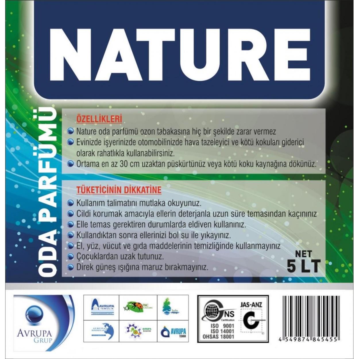 NATURE Kötü Kokuları Gideren Hava Şartlandırıcı 5 Litre