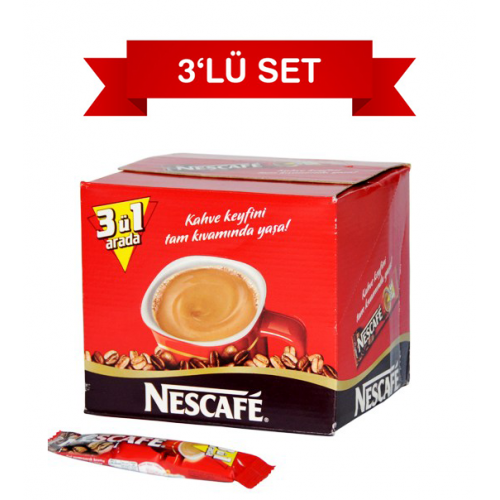 Nescafe 3'ü 1 Arada 17.5 gr 216'lı Paket