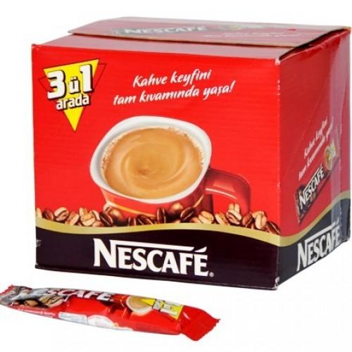 Nescafe 3'ü 1 Arada 17.5 gr 72'li Paket