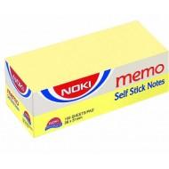 Noki Memo Stıck 38*51 Sarı Yapışkanlı 3 Lü Not Kağıdı