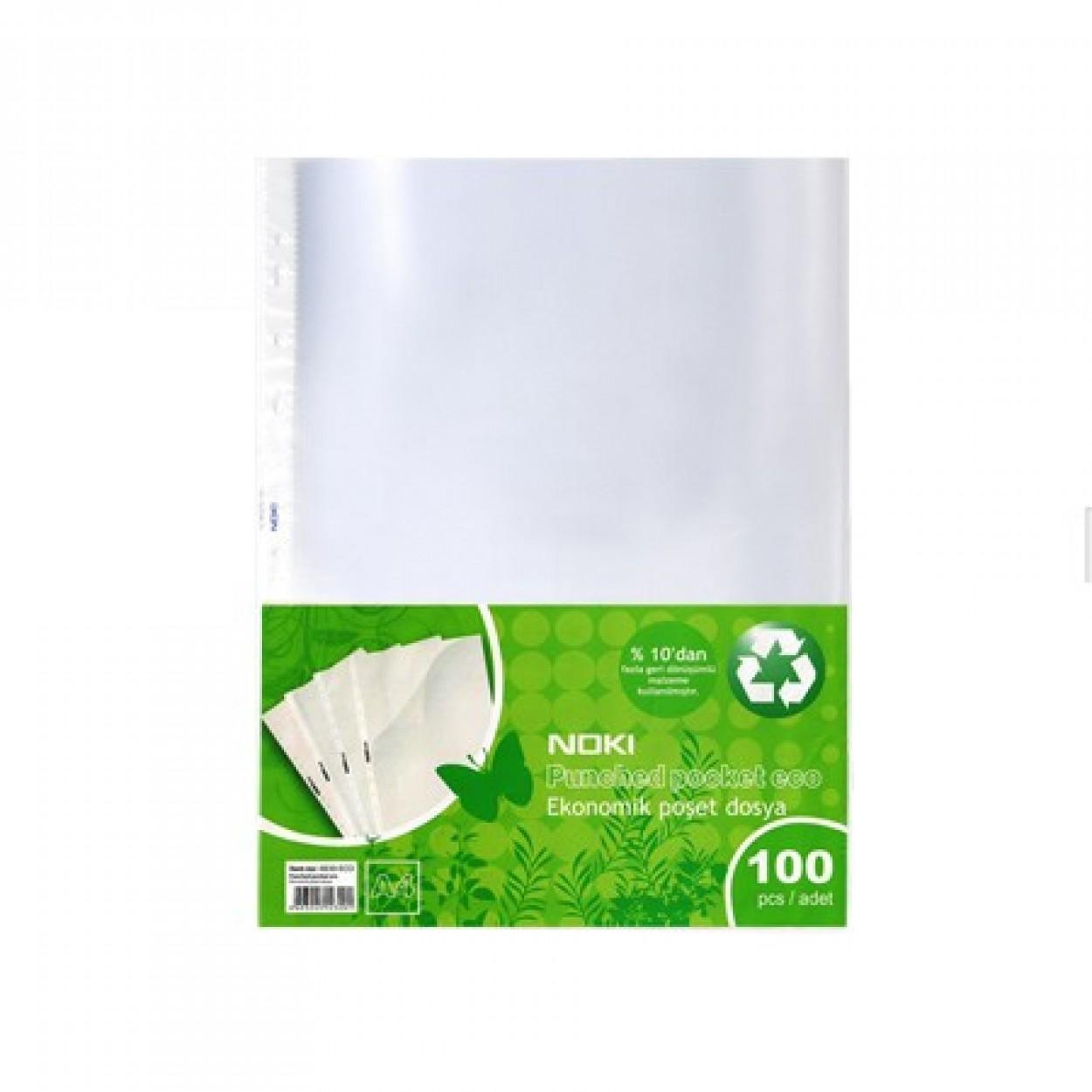 Noki Poşet Dosya Eco 100'Lü 5 Li Paket