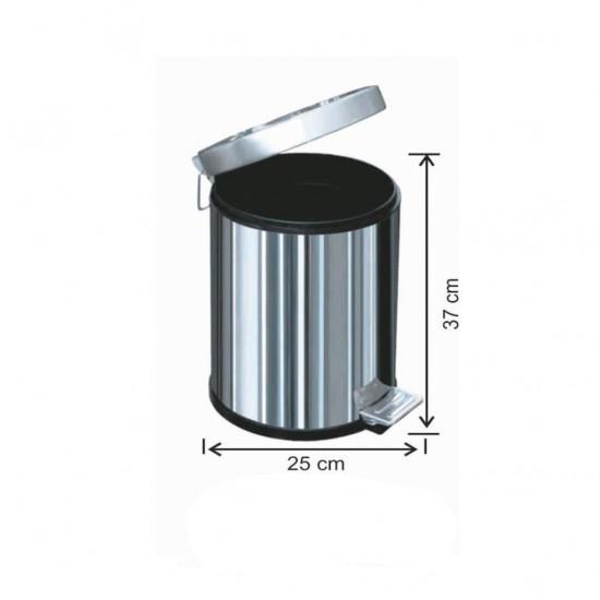 Pedallı Çöp Kovası 12 Litre