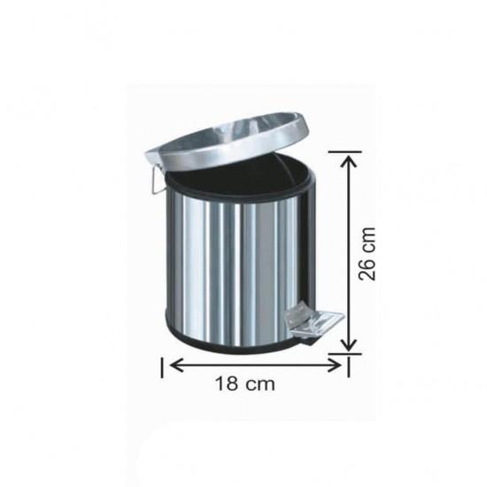 Pedallı Çöp Kovası 3 Litre