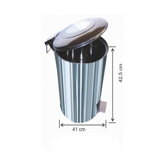 Pedallı Çöp Kovası 40 Litre
