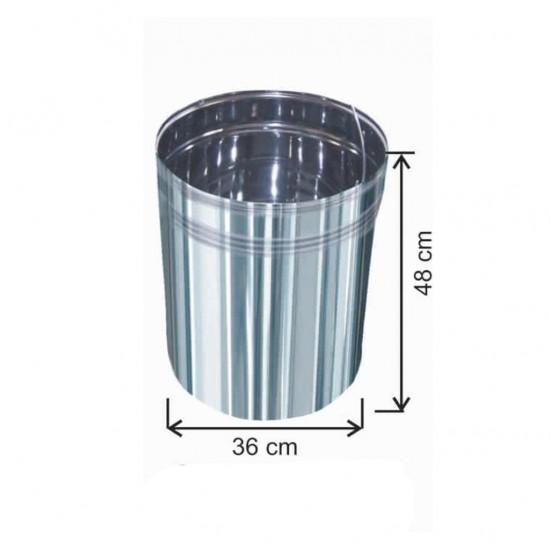 Pedallı Çöp Kovası İçi Yedek  50 Litre