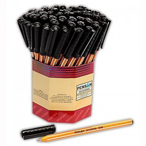 Pensan 1010 Tükenmez Kalem Siyah 60 Lı Kutu