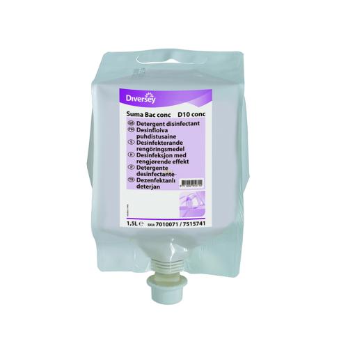 SUMA Bac Cons D10  Konsantre Sanitizeri Deterjan (QAC'li)