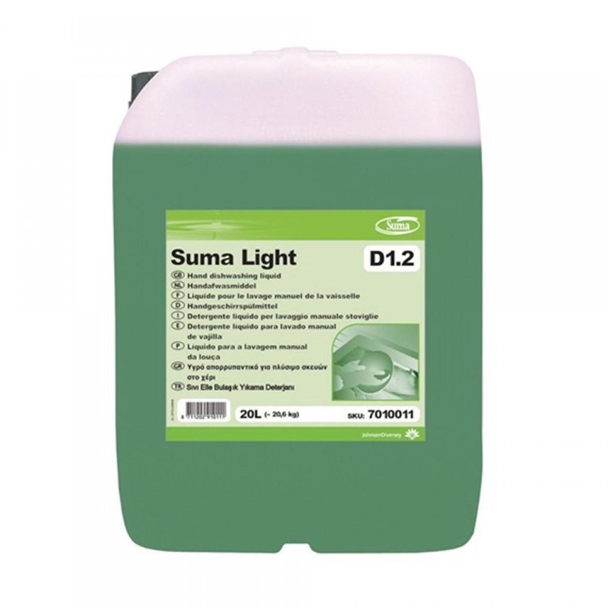 SUMA Light D12  Elde Bulaşık Yıkama Deterjanı 20,60 Kg