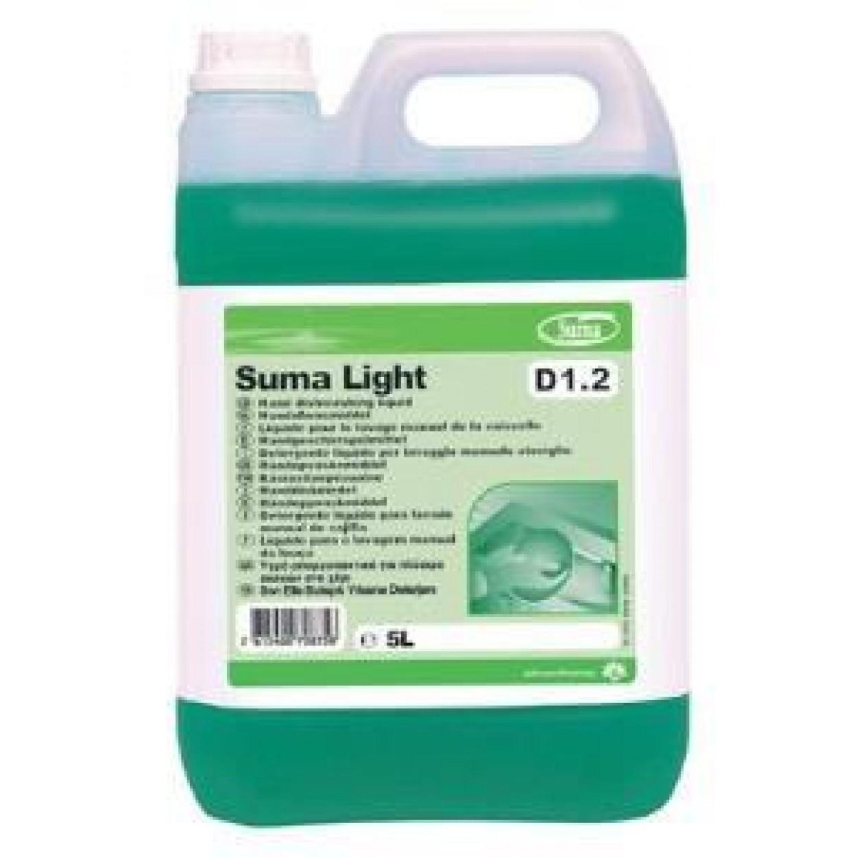 SUMA Light D12  Elde Bulaşık Yıkama Deterjanı 5,15 Kg