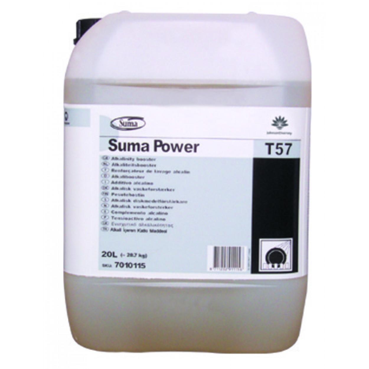 SUMA Power T57 Bulaşık Makinası Nişasta Çözücü Katkı Maddesi