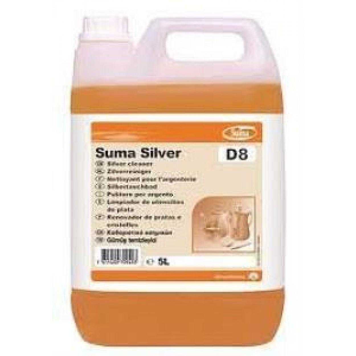 SUMA Silver D8 Sıvı Gümüş Temizleme Maddesi 5,20 Kg