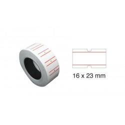 Tanex Fiyat Etiketi 16x23 cm Beyaz Renk 1000 Li 12 li Rulo
