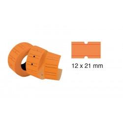 Tanex Fiyat Etiketi 21x12 cm Turuncu Renk 800 Lü 6 lı Rulo