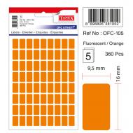 Tanex Ofc-105 Flo Turuncu Ofis Etiketi