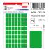 Tanex Ofc-106 Flo Yeşil Ofis Etiketi