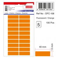 Tanex Ofc-108 Turuncu Ofis Etiketi