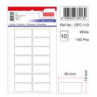 Tanex Ofc-113 Beyaz Ofis Etiketi
