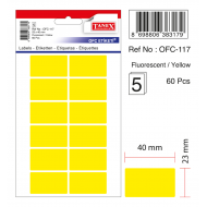 Tanex Ofc-117 Flo Sarı Ofis Etiketi