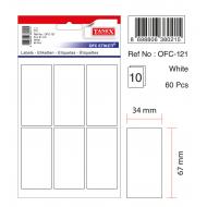 Tanex Ofc-121 Beyaz Ofis Etiketi