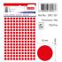 Tanex Ofc-127 Flo Kırmızı Ofis Etiketi