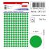 Tanex Ofc-127 Flo Yeşil Ofis Etiketi