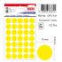 Tanex Ofc-131 Flo Sarı Ofis Etiketi