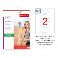 Tanex Tw-2041 Sevkiyat ve Lojistik Etiketi 118x41 mm