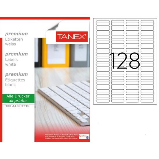 Tanex TW-2096 43,2x8,5 mm Laser Etiket