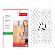 Tanex Tw-2125 Sevkiyat ve Lojistik Etiketi 25 mm