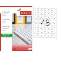 Tanex TW-2130 Laser Etiket 30mm Yuvarlak
