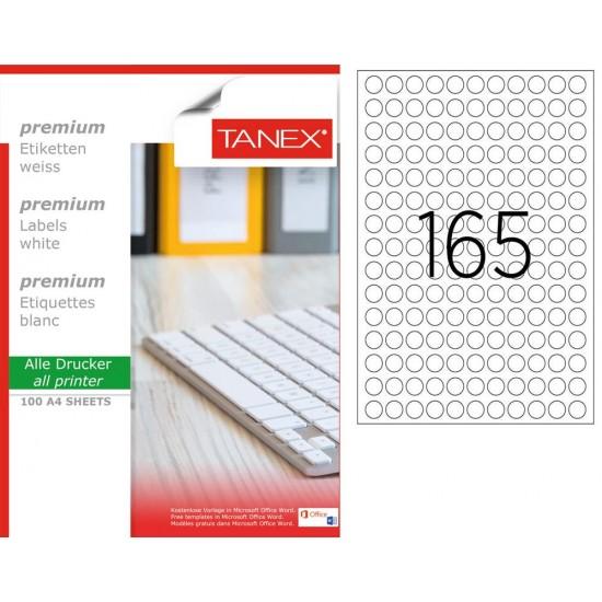 Tanex TW-2215 15 mm Laser Etiket