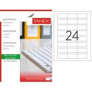 Tanex TW-2334 33x55mm Lazer Etiket 100 Lü Paket