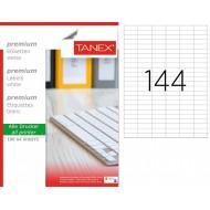 Tanex TW-2544 35x12.4355mm Lazer Etiket 100 Lü