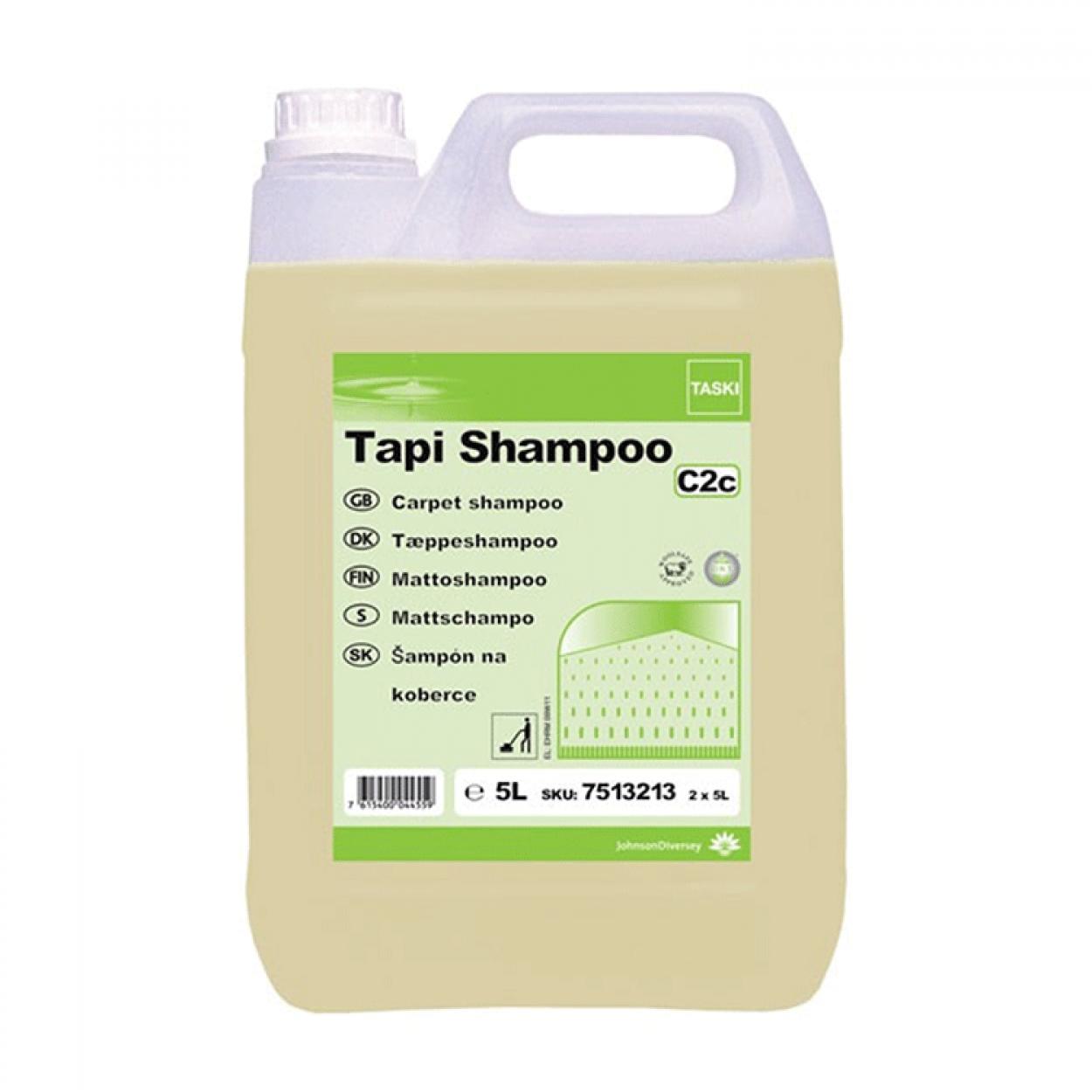Taski Tapi Shampoo C2c Kuru Köpük Halı Şampuanı 5.20 Kg