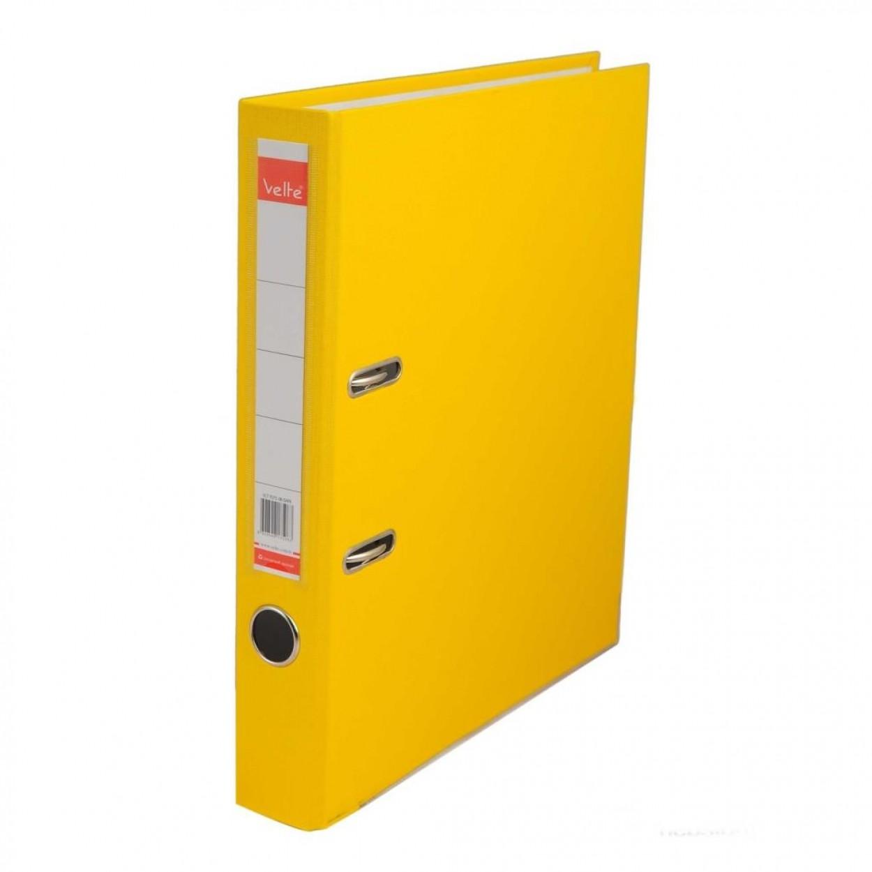 Velte Plastik Klasör Dar Sarı Renk 30 Lu Koli