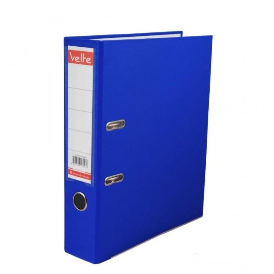 Velte Plastik Klasör Geniş Mavi Renk 25 Li Koli