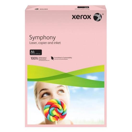 Xerox Symphony Renkli A4 Fotokopi Kağıdı 80 gr 500'lü Açık Pembe